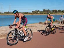 Luke Harvey, Triathlon, AJTS, Triathlon QLD, Way out west championship, swim, ride, run, stitch, cramping, legend, needsmoregoats